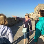 Guided tour of Saint Malo on Marie-Laure's footsteps (all the light you cannot see- A. Doerr)